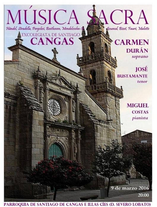 Música Sacra en Cangas